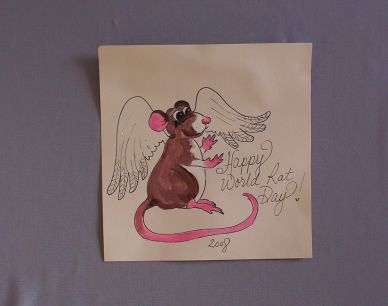 World Rat Day Card