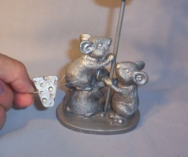 Mouse Candle Holder